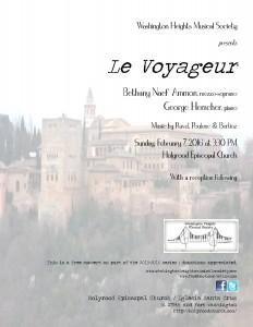 my feb recital flyer
